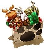 Holiday Gift Basket, Peanut Butter Bones and Good Dog Ginger Stars