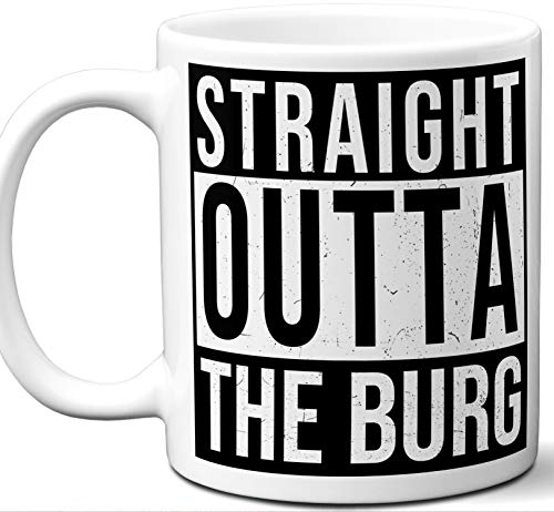 The Burg Illinois IL Souvenir Gift Mug. Unique