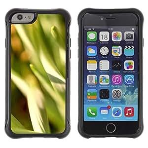 Suave TPU GEL Carcasa Funda Silicona Blando Estuche Caso de protección (para) Apple Iphone 6 / CECELL Phone case / / Abstract Crops /
