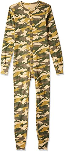 - Carhartt Men's Big and Tall Big & Tall Midweight Cotton Union Suit, Rugged Khaki Camo, Large