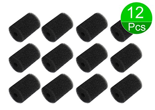Pool Hose Tail Scrubber 9-100-3105 91003105 Replacement Parts for Polaris Vac Sweep Pool Cleaner Hose 180 280 360 380 3900 Sport (12-Pack)