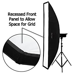 Fotodiox Pro Strip Softbox 12x80\