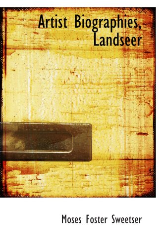 Download Artist Biographies, Landseer ebook