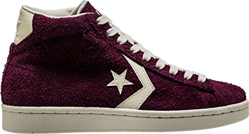Converse Pro Leather Mid Mens Skateboarding-Shoes 157691C_10.5 - Dark Sangria (Skate Leather Pro)