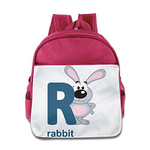 - XJBD Custom Superb Cortoon Little Rabbir Kids Children Shoulders Bag For 1-6 Years Old Pink