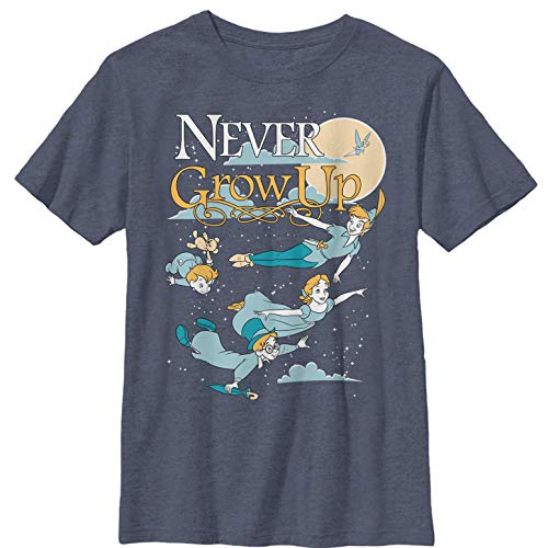 Peter Pan Boys' Never Grow Up T-Shirt