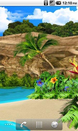 amazon com 3d oasis live wallpaper