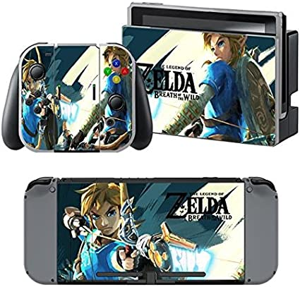 thtb Nintendo Switch + Controller Design Adhesivo protector Set – Zelda (4)/Switch: Amazon.es: Videojuegos