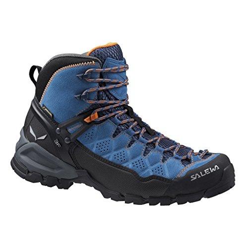 Trainer Salewa Bergschuh Chaussures Femme Randonnée Hautes Carrot Washed Alp Denim de Tex Mid Gore Bleu 8619 fpgq5pWwr