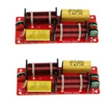 Homyl 2 Pieces 2Way Frequency Divider Units Multi Way Filters For Car Home Speaker