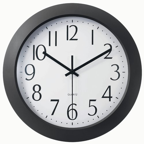 Symple Stuff 12'' Modern Wall Clock from Unknown