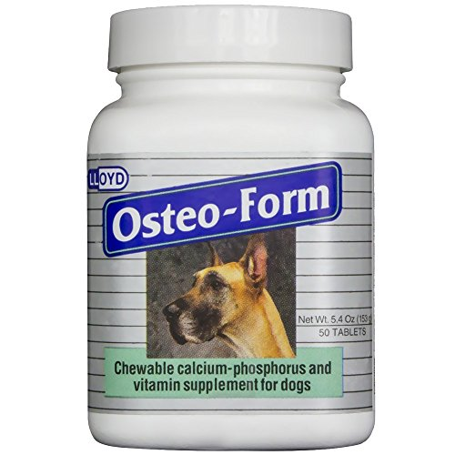 - Vet A Mix Osteoform Calcium Phosphorus Supplement 50ct Btl