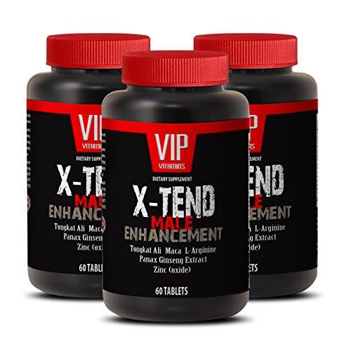 Men pills to last longer - X-TEND - MALE ENHANCEMENT - Tribulus and tongkat - 3 Bottles 180 Tablets