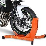 Bloque Roue pour Moto pour Harley Davidson Dyna Fat Bob (FXDF) Constands Easy Plus orange