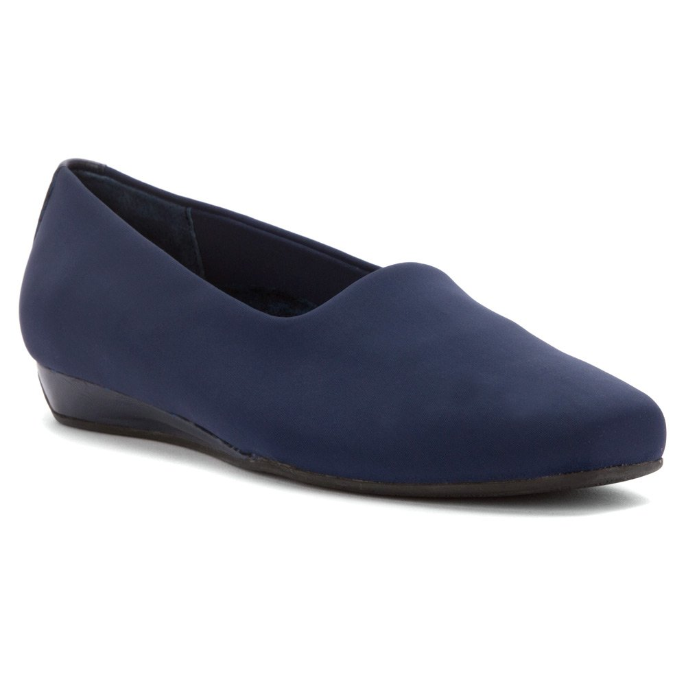 Vionic Treat Powell - Womens Wedge Shoes Navy - 6 Medium