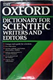 The Oxford Dictionary for Scientific Writers and Editors, , 0198539207