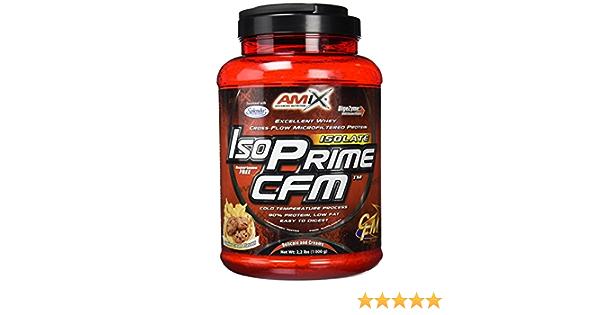 Amix Isoprime Cfm Isolate 1 Kg Cookie Crema 1 1000 g: Amazon ...