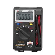 Urhelper Victor VC921 Mini Portable Handheld Digital Multimeter Auto Range Data Hold Function