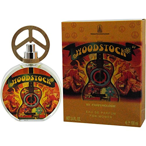 Rock & Roll Icon Woodstock '69 Eau De Parfum Spray, 3.4 (Fragrance Roll)