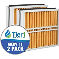 Trane FLR06069 American Standard BAYFTFR17M 17.5x27x5 Merv 11 Replacement Air Filter (2 Pack)
