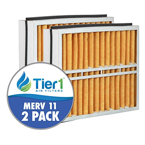 Trane FLR06069 American Standard BAYFTFR17M 17.5x27x5 Merv 11 Replacement Air Filter (2 Pack) by Tier1