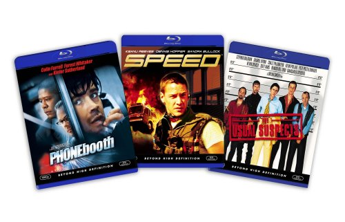Blu-ray Suspense and Thriller Bundle (The Usual Suspects / Speed / Phone Booth) - (Amazon.com Exclusive)