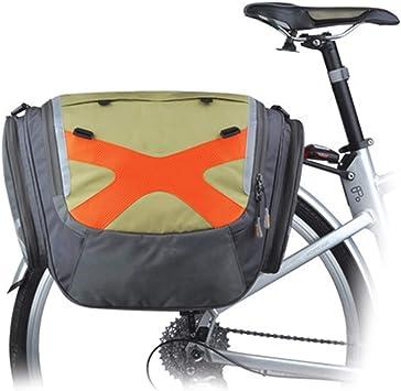 PORTAEQUIPAJES Bolsa Alforja Trasera Bicicleta, Bolsa para Silla ...