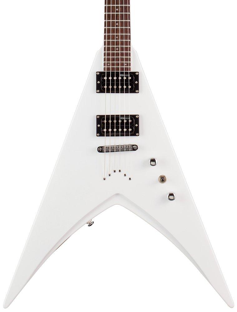 LTD V-50 SW de la guitarra eléctrica blanca como la nieve: Amazon.es: Instrumentos musicales