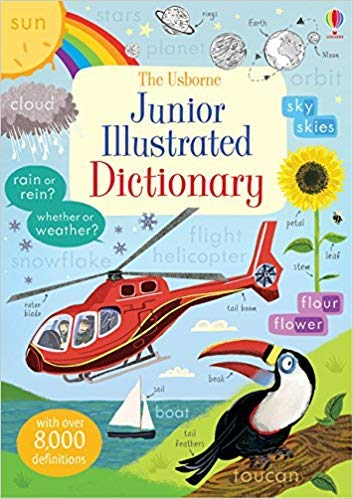 [By Hannah Wood ] Junior Illustrated English Dictionary (Illustrated Dictionary & Thesaurus) (Paperback)【2018】by Hannah Wood (Author) ()