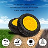 """Bonnlo Solid Tires 10"""" Replacement NO Flat Airless"""