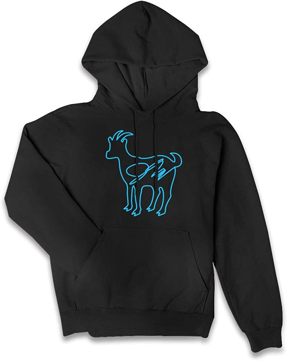 Wanjirong Womens Fleece Pullover Hooded Print Erika Costell Sheep Sweatshirt
