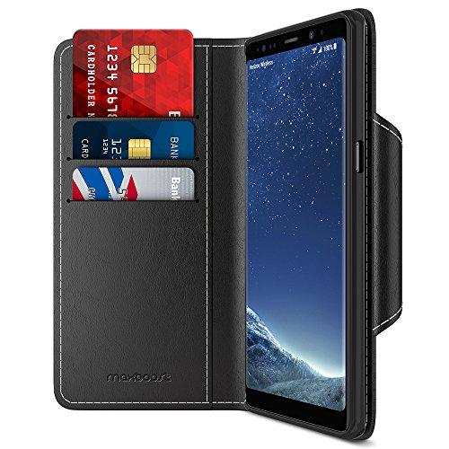 Maxboost Note 8 Wallet Case   mWallet Series for Samsung Gal