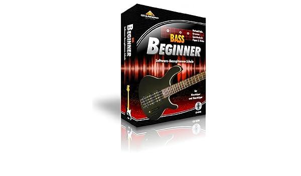 gitarrero Bass Beginner (descarga) | lernprogramm Software para ...