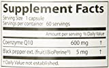 Doctor039s Best High Absorption CoQ10 with BioPerine Non-GMO Vegan Gluten Free Naturally Fermented Heart Health Energy Production 600 mg 60 Veggie Caps Discount