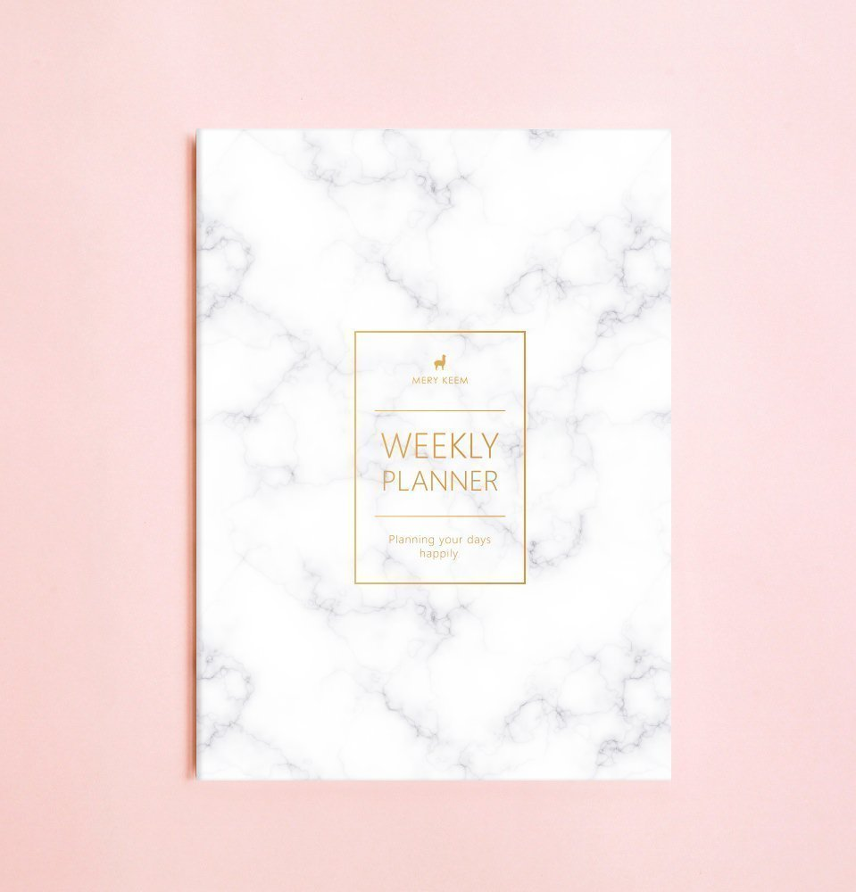 Planificador semanal • 2018 Cuadernos Semanal • Agenda • Diario • Regalo de Navidad • Planificador de Viaje • Planificador diario • Calendario