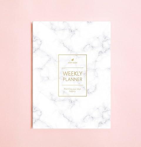 Planificador semanal (Undated) • 2019 Cuadernos Semanal • Agenda • Diario • Regalo de Navidad • Planificador de Viaje • Planificador diario • ...