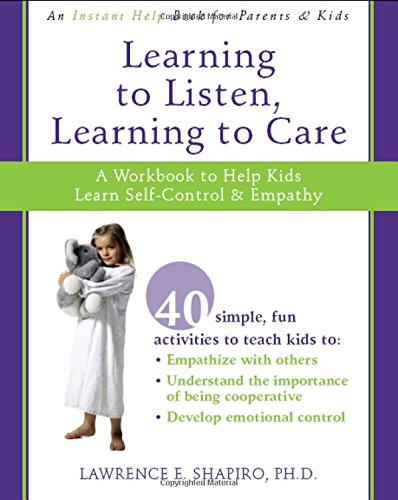 teaching empathy to kids workbook