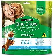 Petisco Neslé Dog Chow Saúde Oral para Cães Adultos Pequenos - 105g