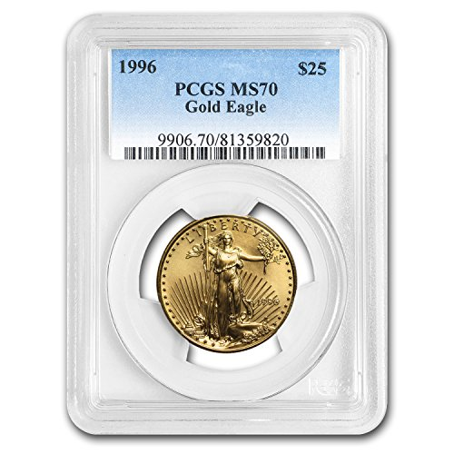 1996 1/2 oz Gold American Eagle MS-70 PCGS Gold MS-70 PCGS
