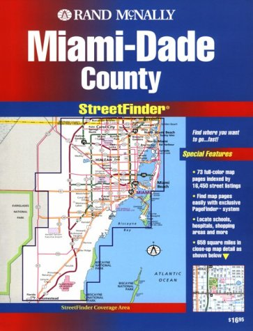 (Rand McNally Miami/Dade Countystreetfinder (USA StreetFinder Atlas))