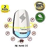 QuanlityFirst Ultrasonic Home Pest Repeller Electronic Pest Control (2 Pack) Pest Repeller