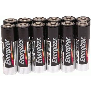 Amazon.com: Energizer E91BP-12 AA Batteries (12-Pack