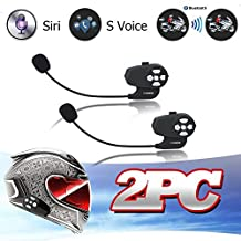 LEXIN® max2 Voice Control and Battery Detection Function Bt Bluetooth Intercom Waterproof Interphone Headsets