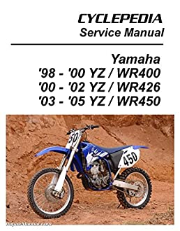 cpp 121 p yamaha yz wr 400, 426, 450f cyclepedia printed motorcyclecpp 121 p yamaha yz wr 400, 426, 450f cyclepedia printed motorcycle service manual manufacturer amazon com books