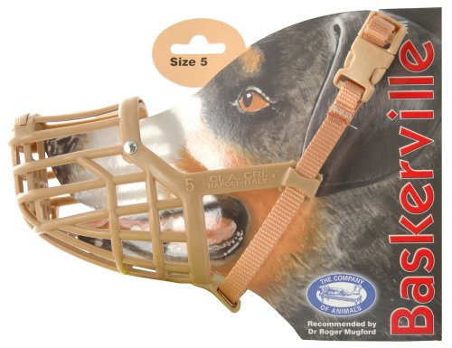 Baskerville Classic Muzzle, Size 5