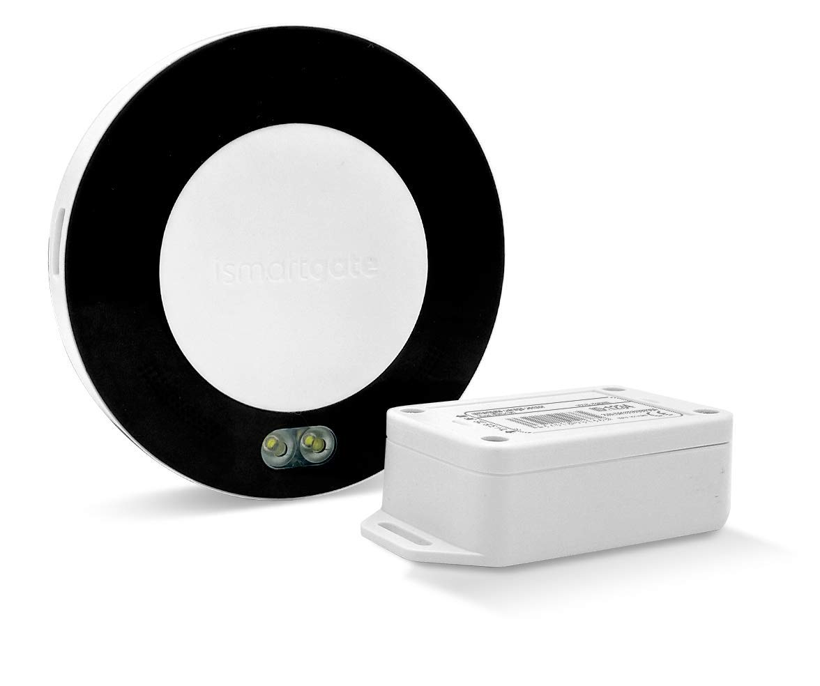 ISMARTGATE PRO Garage (aka. New Gogogate2) - HomeKit, Google Assistant, Alexa and iFTTT Compatible Controller to remotely Open, Close and Monitor from Anywhere with Smartphone.