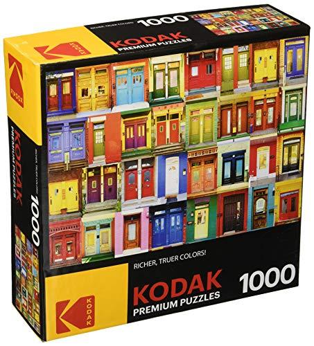 KODAK Premium Puzzles Colorful Montreal Doors Jigsaw - Jigsaw Premium