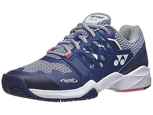 - YONEX SONICAGE Ladies Clay Navy/Pink (6)