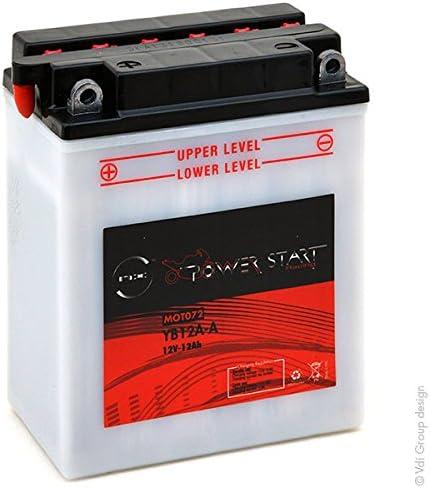 Nx Motorrad Batterie Yb12a A Nb12a A 12n12a 4a 1 12v 12ah Auto