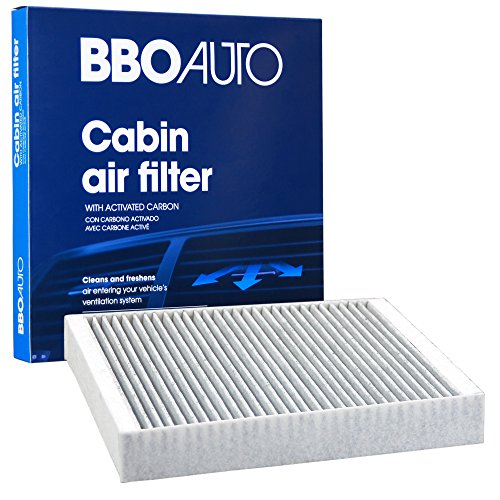 BBO AUTO BCF10775 Premium Cabin Air Filter with Active Carbon Media - Fits Chevrolet Cruze, Malibu, Sonic, Trax | Cadillac SRX | Buick LaCrosse, Encore, Verano (CF10775 REPLACEMENT) ()